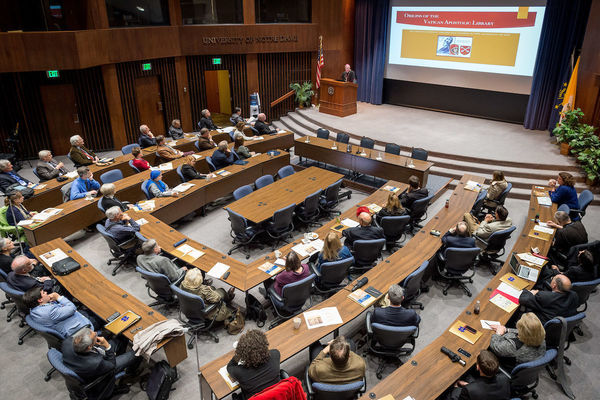 Vatican Library Conference in McKenna Hall